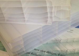 100% Virgin Bayer Material Plug-Pattern Polycarbonate Sheet with UV Protection