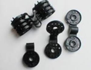 Black Plastic Clips