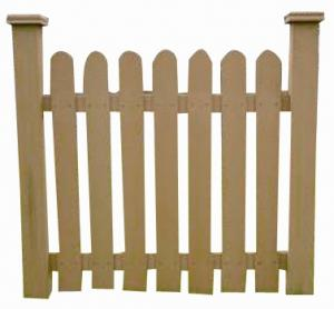 Wood Plastic Composite Fence/Rail  CMAX HR009B