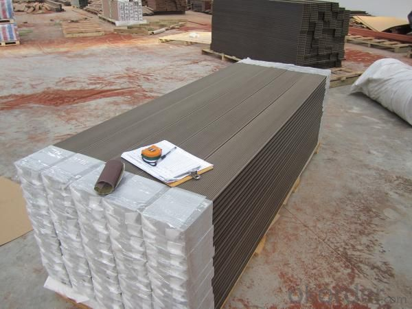 Wood Plastic Composite Decking CMAX H140S35