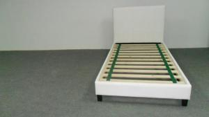 PU Bed- King Single Size