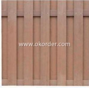 Wood Plastic Composite Fence/Rail CMAX SF011