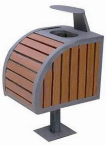 Wood Plastic Composite Dustbin CMAX S018