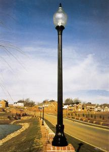 FRP Lighting Pole D25
