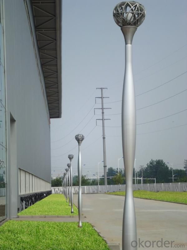 FRP Lighting Pole D30