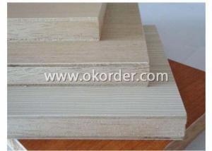 Melamine Faced Block Board Falcata Core