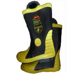 Fire Resistant Safety Rubber Boots for FireFighter