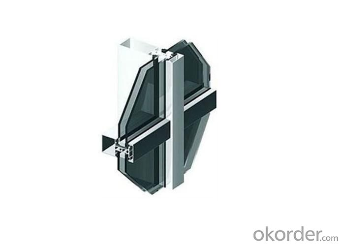 Curtain Wall Aluminium Profile