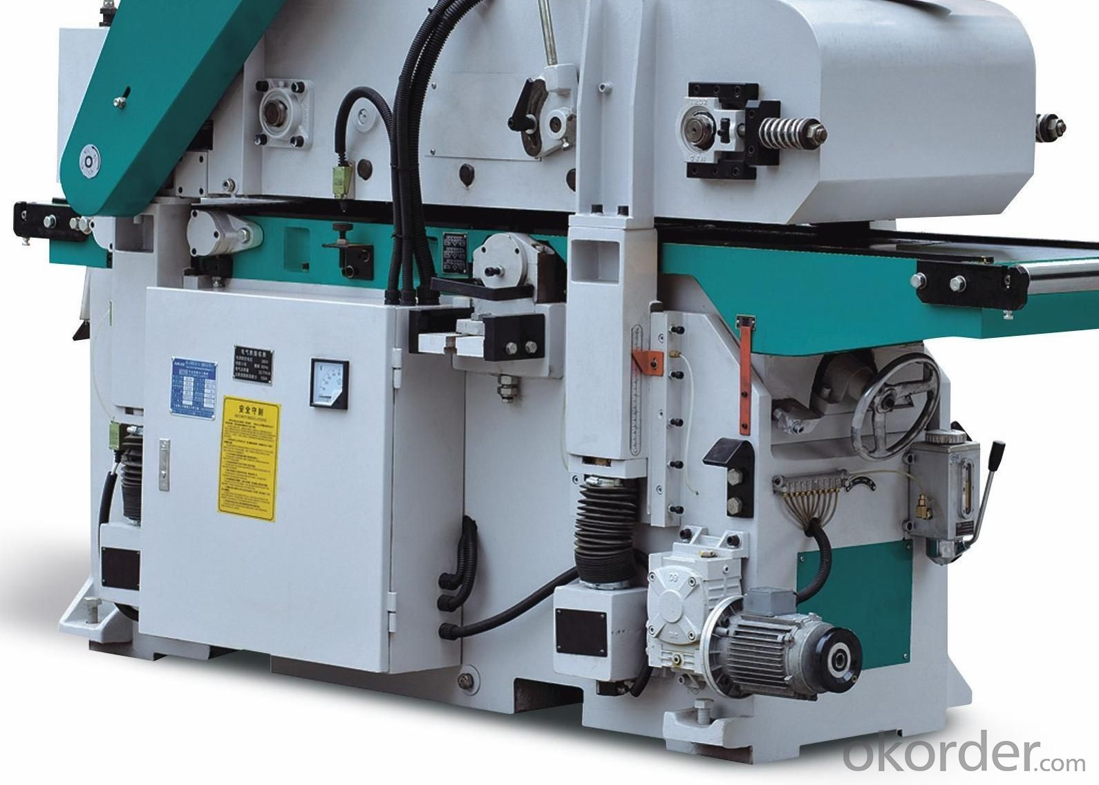 Double-Side Planer Wood Working Machine