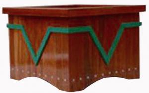 Wood Plastic Composite Flower Box CMAX N029