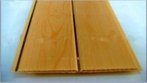 Wooden Color Laminated Pvc Ceiling Panel in China 25cm