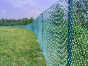 PVC Coated Chain Link Fence For Garden