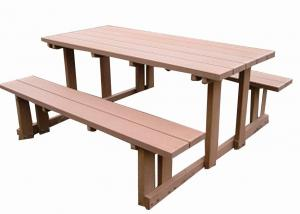 Wood Plastic Composite Outdoor Table CMAX S008