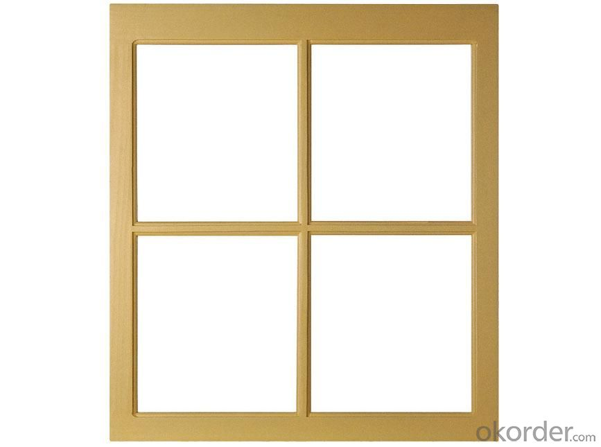 Metal Window in Popular Design