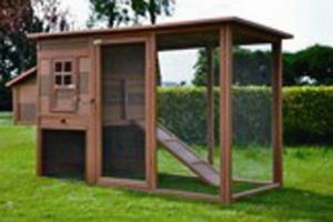 Wood Plastic Composite Chicken House CMAX L037