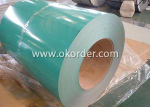 Prepainted Aluzinc Steel Coil-RAL 6002