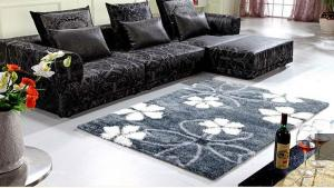 Flame Retardant Polyester Shaggy Hotel Carpet