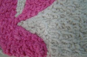 Fashionable Polyester Hook Carpet/Rug