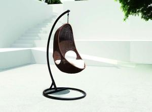 Steel Rattan Swing Chair - Hanging Chair