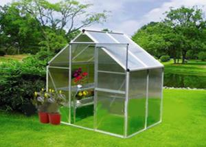 Polycarbonate Board and Aluminum Frame Greenhouse