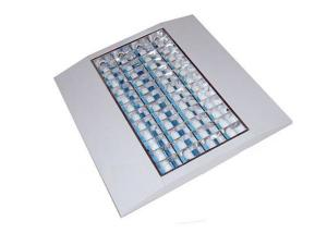 T8 Grille Lighting Fixtures 4 x 14 Watt