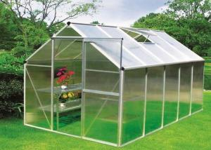 Polycarbonate Greenhousewith Aluminum Fram