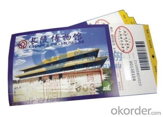 Customed Scenic Spot Ticket