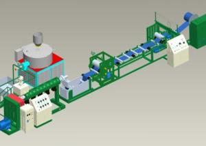 Colored PVC Waterstop Production Line From China