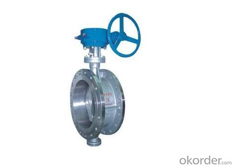 Butterfly Valve Isolating or Regulating Flow U Type FF RF Pisition-Off  360 ISO 5211