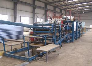 High Pressure PU Sandwich Panel Line( Discontinuous)
