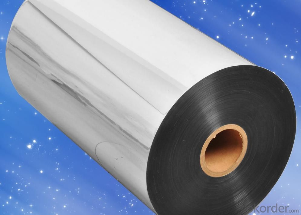 18/20/25/30 Micron Silver Metalized CPP Film With High Quality