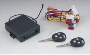 Remote Arming/Disarming Car Alarm 1886 with Automatic Door Lock/Unlock