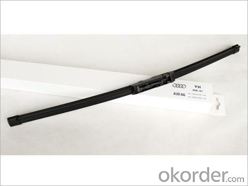 Universal Windshield Wiper Blade-Stainless Steel Frame with Natural Rubber/Silicon Rubber - 903