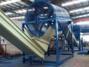 Wind-cooling Hot-cutting Plastic Recycling Machine
