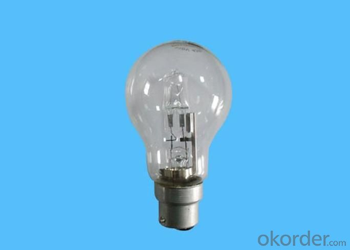 Halogen Lamp A60 with B22 Base and ClassC