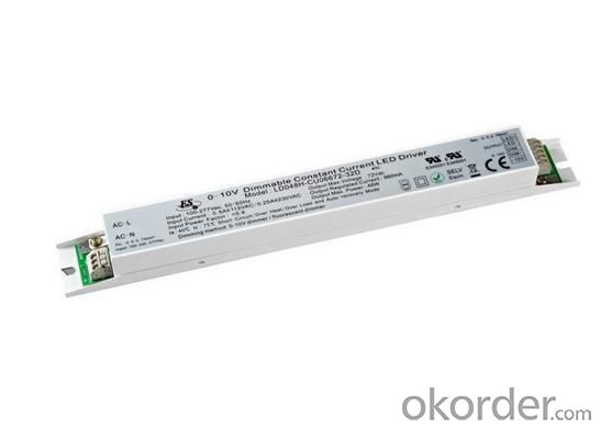 Dimmable LED Drvier 48 Watt 0-10V