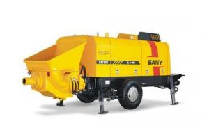 Trailer Concrete Pump HBT60C-1413D