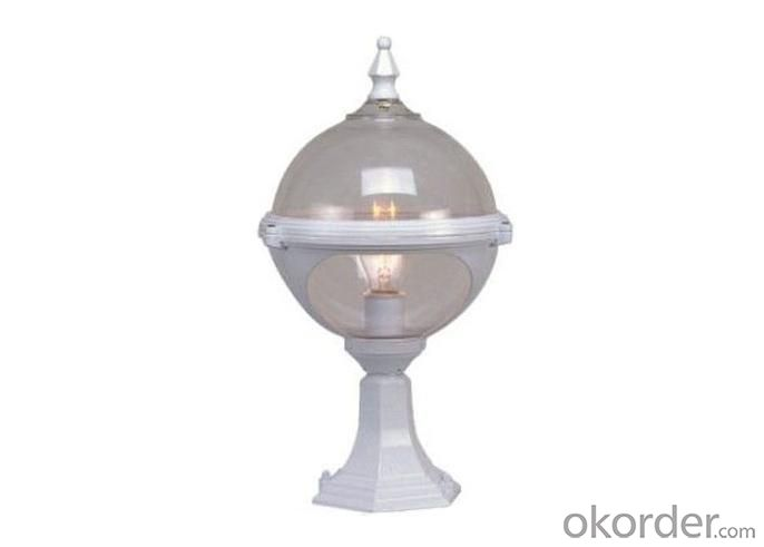 0005-PF Die Cast Aluminium Outdoor Pillar Lamp