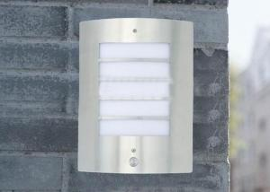 Stainless Steel Outdoor Lamp with Sensor