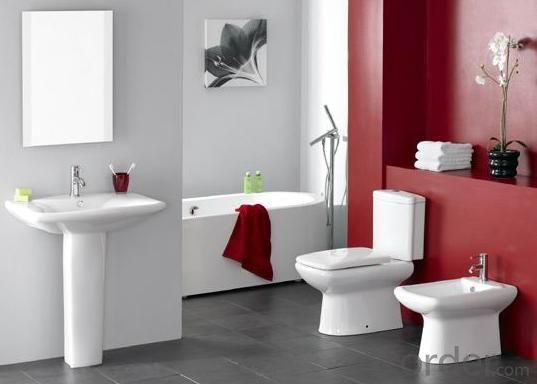 Hot Bathroom Ceramic Toilet Good Quality Best Selling Modle 210 Two Piece