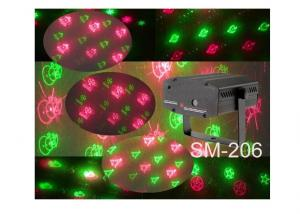 SM-206 Red Green Laser Light Gifts Lights