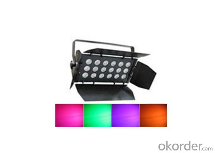 18*15W RGB 3 In Led Wash Cyclorama Light Stage Light