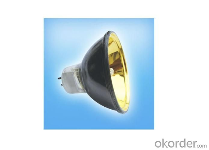 Osram JCR Medical Lamps 24V 250 Watt with Smooth Gold Reflector