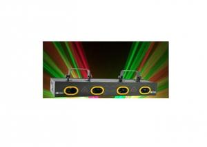 250mw Four Lens Double RG Laser Display System, Laser Shows