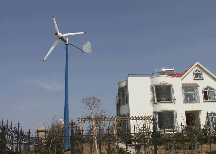 Wind Turbine Active Yawing  Of CNBM-3KW