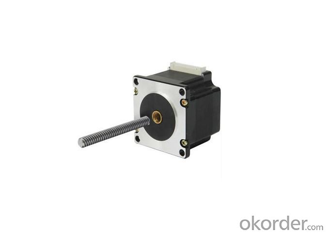 Hollow Shaft or Threaded Shaft Stepper Motors