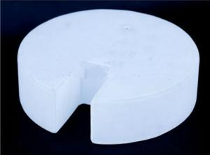 Milky Quartz Glass Flange