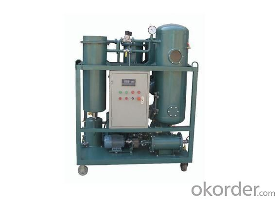 Waste Steam Turbine Oil Filtering System