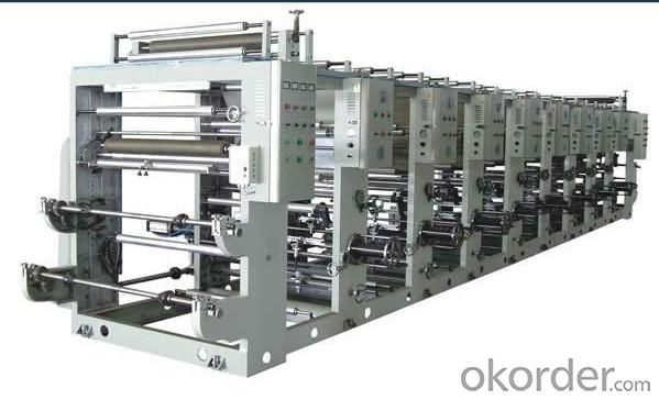 Set A Common without Shaft Gravure Printing Machine