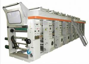 Economy without Shaft Gravure Printing Machine